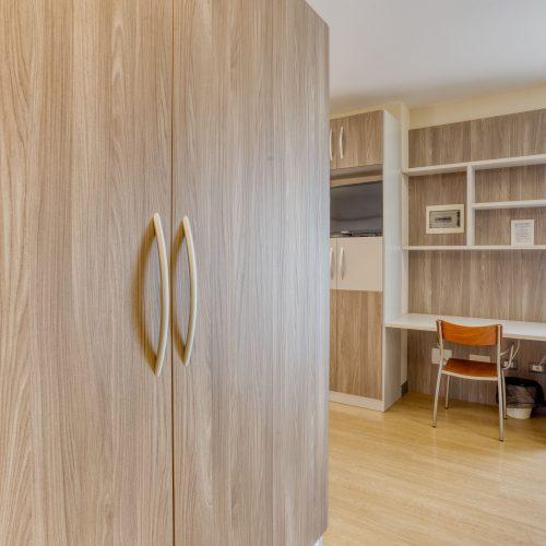"""Zona giorno stanze """"su misura"""" per pazienti con problemi motori e/o obesi - fine costruzione gennaio 2020"""